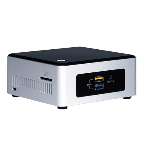 Mini PC Intel NUC Kit NUC5PPYH (Next Unit of Computing)  Pentium N3700搭載 2.5インチHDD or SSD対応 超小型ベアボーンキット BOXNUCPPYH