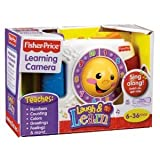 Fisher-Price Laugh & Learn Camera - Take Pictures To Hear Fun Sounds And Four Sing-Along Songs