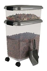 IRIS Airtight Pet Food Container Combo Kit