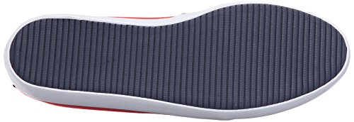 Lacoste Women's Marice 316 1 Spw Flat, Red, 8 M US