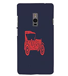 ONE PLUS TWO VINTAGE Back Cover by PRINTSWAG