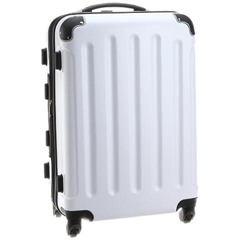 [トラベルギア] Travel Gear TSAファスナー四輪エンボス260 M 8011 64490 ホワイト (ホワイト)