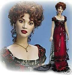 Amazon Com Rose Official Titanic Vinyl Portrait Doll By