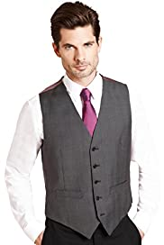 Collezione Wool Blend 5 Button Waistcoat