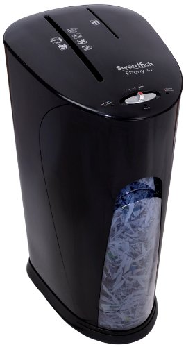 Swordfish 40195 Ebony-10 Diamond Cut Shredder