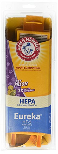 Eureka HF-5 HEPA Odor Eliminating Vacuum Filters / DCF-15 Pet Fresh (64009D) (Eureka Filter Hf5 compare prices)