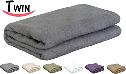 100% cotton throw blanket - Utopia Bedding