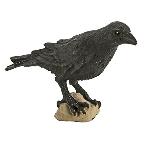 Safari Ltd Wings of the World - Raven - Realistic Hand Painted Toy Figurine Model - Quality Construction from Safe and BPA Free Materials - For Ages 3 and Up