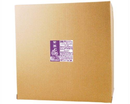 リンスインシャンプー 紫葉 kkーriー5siba 5L×4個 くさの葉化粧品