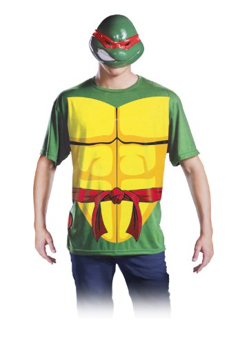Teenage Mutant Ninja Turtles Adult Tee and Mask L/XL