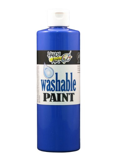 Handy Art by Rock Paint 211-040 Washable Paint 1, Violet, 16-Ounce - 1