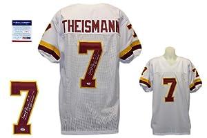 Joe Theismann Autographed Signed Washington Redskins White Jersey