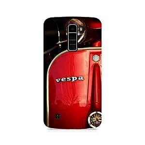 Ebby Vespa Premium Printed Case For LG K7