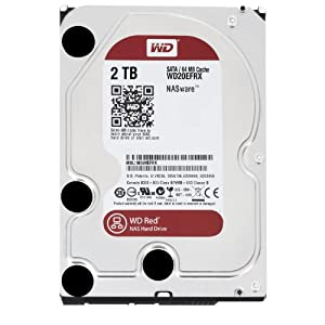 WD 2 TB for NAS 3.5-inch Desktop Hard Drive Including WD Express Warranty (Frustration Free Packaging) - Red