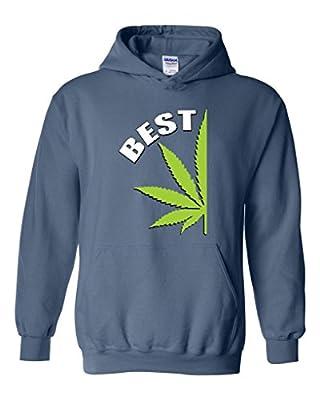 Artix BEST Buds Pot Leaf Marijuana Weed Cannabis Unisex Hoodie Sweatshirt