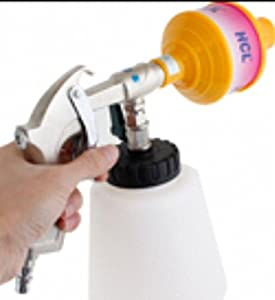 Auto Car Tornado Pulse Foam Cleaning Gun Cleaner W Plastic Bottle by hip-gift