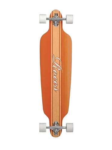 Roces Longboard Model 2 Natural Skateboard, Marrone