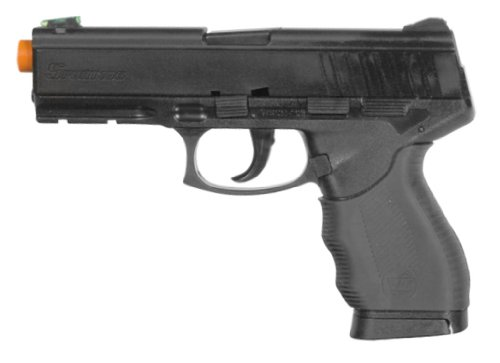 Firepower SoftAir Interrogator Spring Powered Pistol, Black