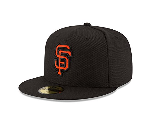 MLB San Francisco Giants Men's Diamond Era 59FIFTY Cap, 7.5, Black