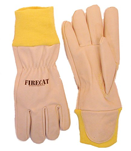 Red Steer 15590-XXL Fire Cat Wildland Firefighting Glove, Kevlar Sleeve [Price Is Per Pair] (Kevlar Wood Stove Gloves compare prices)