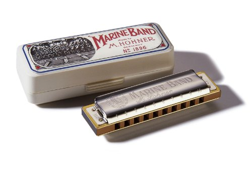 Hohner Marine Band Harmonica, Key of E