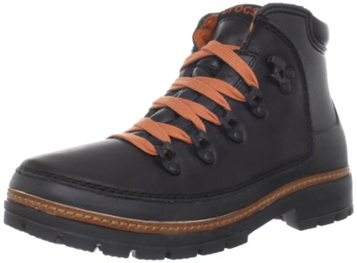 crocs Men's Cobbler Boot,Black/Black,7 M US