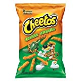Cheetos Crunchy Jalapeno Flavored Snacks, 9.75oz Bags (Pack of 3) ~ Cheetos