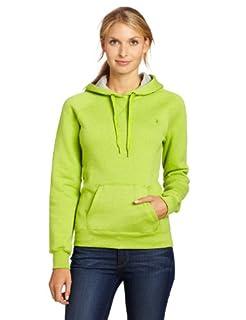 Champion Women's Eco Fleece Hoodie, Mystical Green Heather, XX-Large