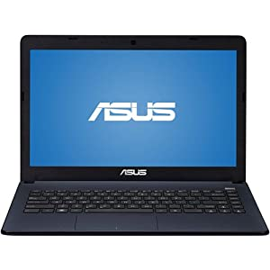 "Asus Matte Deep Blue Square 14"" X401U-EBL4 Laptop PC with AMD E1 1200 Processor, 4GB, 320GB HD, Webcam and Windows 7 Home Premium"