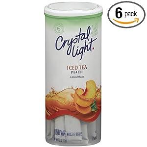 crystal light peach