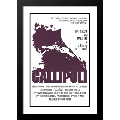 Gallipoli 32x45 Framed and Double Matted Movie Poster - Style A - 1981