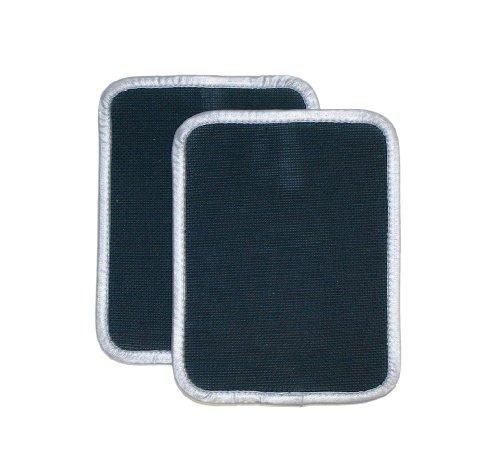 Ritz 040103 2-Piece Neoprene Potholders Set, Black