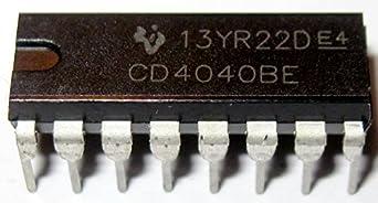 5PCS TI CD4020BE CD4020 DIP-16 CMOS RIPPLE-CARRY BINARY COUNTER DIVIDERS