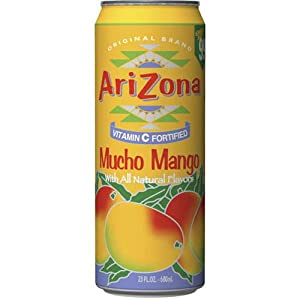 Arizona Mucho Mango, 23-Ounces (Pack Of 24)