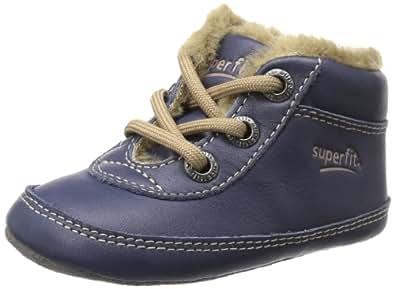 Superfit Baby 10012580, Baby Jungen Lauflernschuhe, Blau (Ocean 80), EU 17