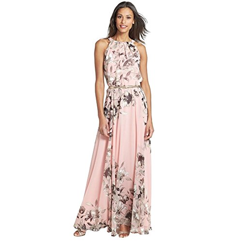 Lisli Sexy Women Summer Boho Long Maxi Evening Party Cocktail Dress Beach Dress (XL)