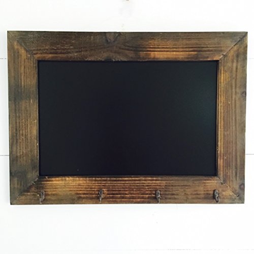 the-rustic-heritage-home-chalkboard-with-hooks-handcrafted-fir-and-mdf-slate-finished-board-21-3-4-x