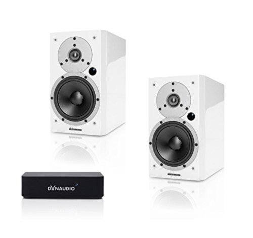 DYNAUDIO XEO 3 WIRELESS POWERED AUDIOPHILE MONITOR SPEAKERS -- SATIN WHITE