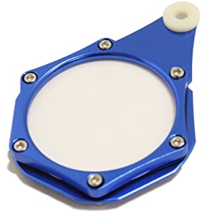 Ryde Metal Motorcycle Tax Disc Holder - Dark/Navy Blue