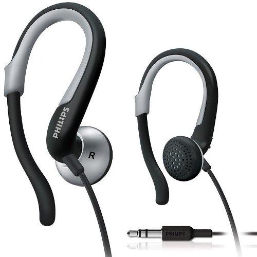 Brand New Philips Shs4840 Ear-Hook Earbuds Earphones Headphones In Ear Plugs For Radio Mp3