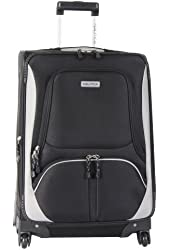 Nautica Luggage Expandable Spinner Upright Suitcase