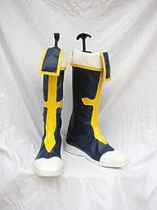 BlazBlue: Calamity Trigger Jin Kisaragi Cosplay Boots Shoes