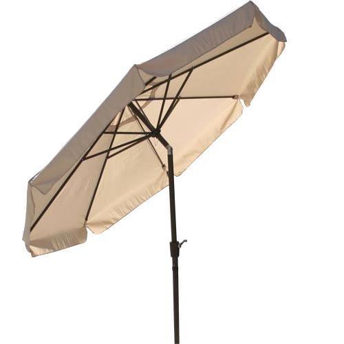 Umbrella Stand Patio Umbrella 10 Foot Tan Market