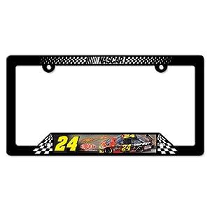 Buy #24 Jeff Gordon 2014 Plastic License Plate Frame Wincraft -31246014 by Brickels
