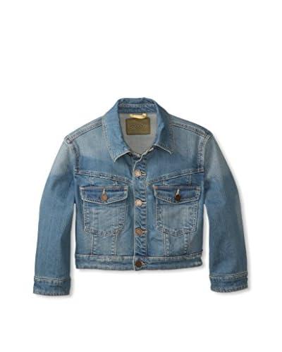 BLANKNYC Women's Denim Crop Jacket