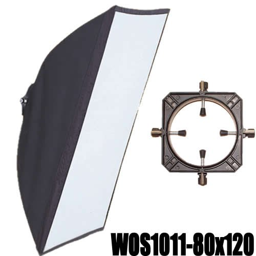 DynaSun WOS1011 80x120cm 31x47 inch Professional Rectangular Softbox with Universal Speeding Mount