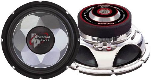 "New Pyramid 600W 6.5"" Car Audio Subs/Subwoofers/Woofers"