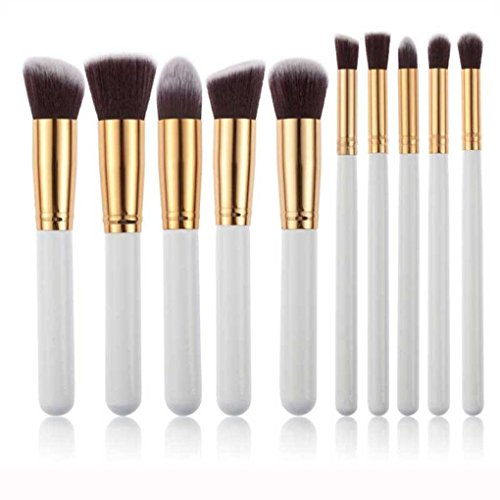 tonsee-10pcs-kabuki-style-professional-make-up-brush-set-foundation-blusher-face-powder