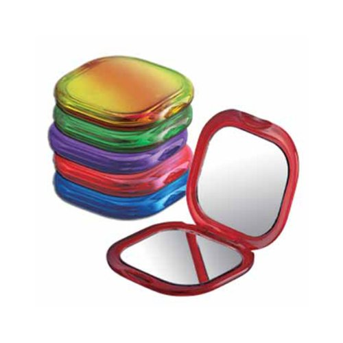 Kimball & Young 1-1000 Jewel Toned Double Mirror Compact Assortment