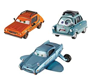 Cars 2 Collector Submariner, Professor Z, and Grem Vehicle 3-Pack